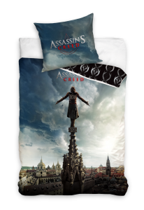 TYP PRODUKTU: Pościel KOD PRODUKTU: ASM163018 LICENCJA: Assassin\'s Creed