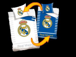 TYP PRODUKTU: Pościel KOD PRODUKTU: RM16_1001 LICENCJA: Real Madrid