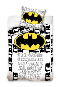 TYP PRODUKTU: Pościel KOD PRODUKTU: BAT161002 LICENCJA: Batman