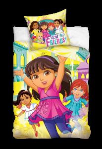 TYP PRODUKTU: Pościel  KOD PRODUKTU: DOR162020 LICENCJA: Dora and Friends