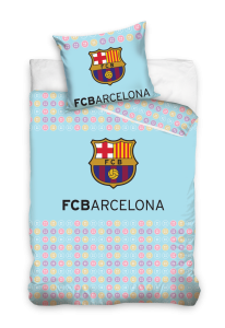 TYP PRODUKTU: Pościel KOD PRODUKTU: FCB5013 LICENCJA: FC Barcelona Rozmiar: 100x135+40x60