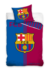 TYP PRODUKTU: Pościel KOD PRODUKTU: FCB8015 LICENCJA: FC Barcelona Rozmiar: 160x200+70x80/140x200+70x80