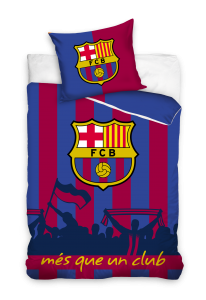 TYP PRODUKTU: Pościel KOD PRODUKTU: FCB9002 LICENCJA: FC Barcelona Rozmiar: 160x200+70x80/140x200+70x80