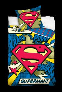 TYP PRODUKTU: Pościel KOD PRODUKTU: SUP16_3001A LICENCJA: Superman