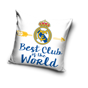 TYP PRODUKTU: Poduszka  KOD PRODUKTU: RM163007 LICENCJA: Real Madrid