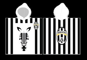 TYP PRODUKTU: Poncho LICENCJA: Juventus Turyn