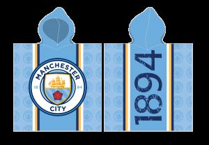 TYP PRODUKTU: Poncho KOD PRODUKTU: MCFC162002 LICENCJA: Manchester City