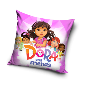 TYP PRODUKTU: Poduszka KOD PRODUKTU: DOR_014 LICENCJA: Dora and Friends