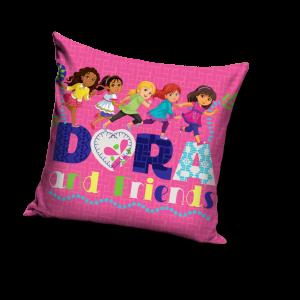 TYP PRODUKTU: Poduszka KOD PRODUKTU: DOR16_3012 LICENCJA: Dora and Friends