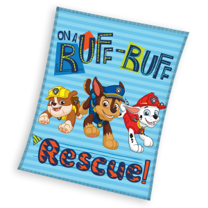 TYPE OF PRODUCT: Fleece PRODUCT CODE: PAW163014 LICENCE: Paw Patrol