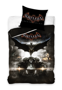 TYP PRODUKTU: Pościel KOD PRODUKTU: BATARK161003 LICENCJA: Batman Arkham