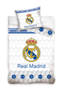 TYP PRODUKTU: Pościel KOD PRODUKTU: RM181013 LICENCJA: Real Madrid
