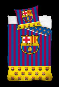 TYP PRODUKTU: Pościel KOD PRODUKTU: FCB182011 LICENCJA: FC Barcelona Rozmiar: 160x200+70x80/140x200+70x80